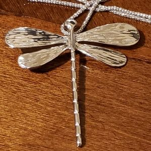 Jewelry - Dragonfly pendant Sterling Silver